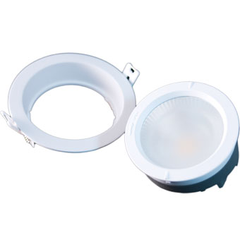 Harp Module and 4 inches Recessed Downlight Fitting